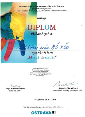 Malý designér_diplom